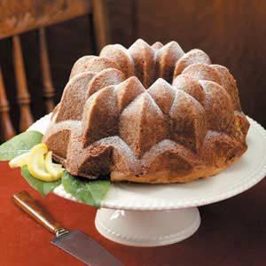 Delicate Lemon Pound Cake