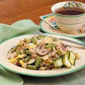 Veggie Rice Saute