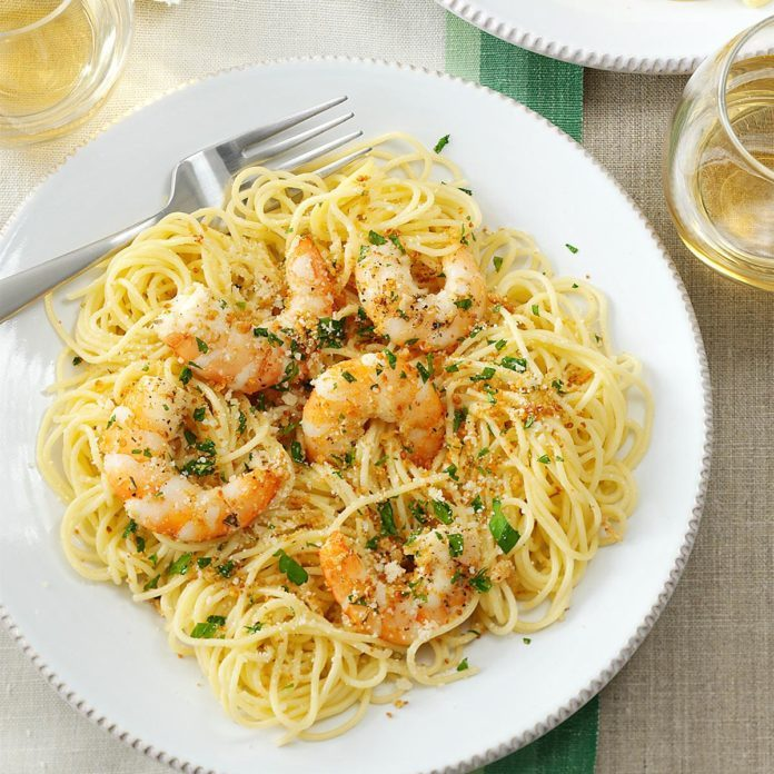 Inspired by: Cheesecake Factory Shrimp Scampi