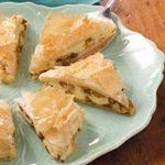 Asparagus Cheese Triangles