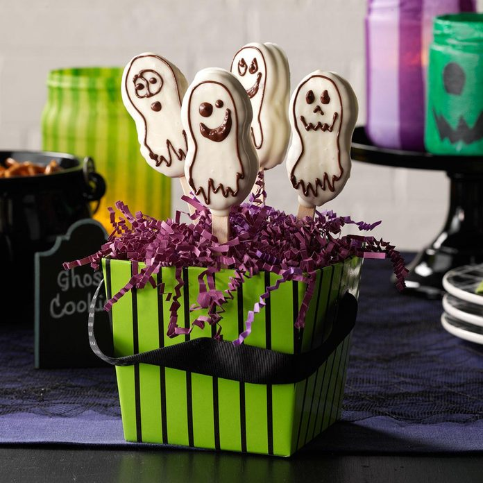 Wyoming: Quick Ghost Cookies