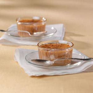 Rich Pumpkin Custard