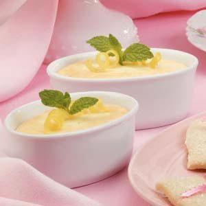 Lemon Cake Custard