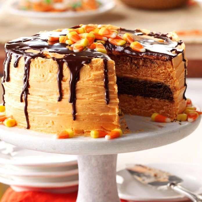 Sweet Treat: Halloween Layer Cake