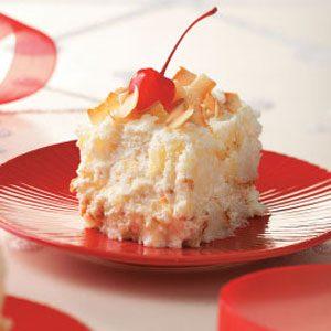 Snowballs Cake