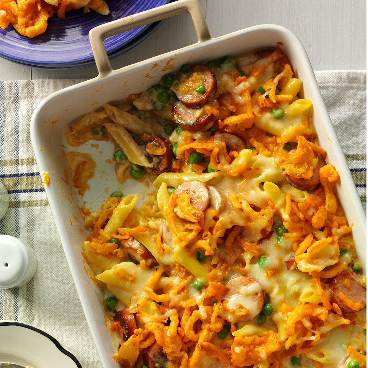 Penne And Smoked Sausage Recipe Taste Of Home