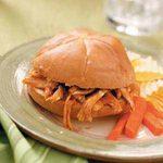 Shredded Turkey Sandwiches