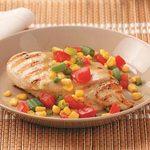 Chicken with Garden Salsa