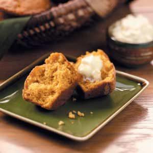 Spiced Sweet Potato Muffins