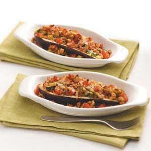 Veggie-Stuffed Eggplant