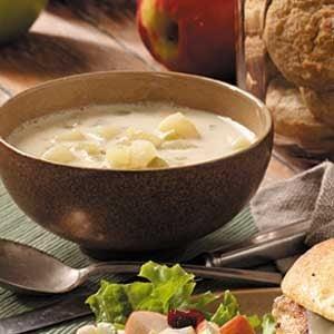 Quick Cream of Potato Soup