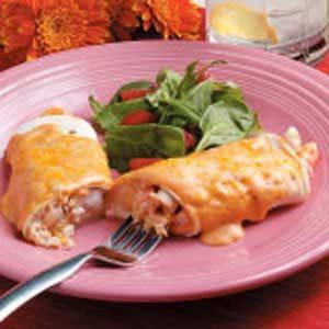 Best Seafood Enchiladas