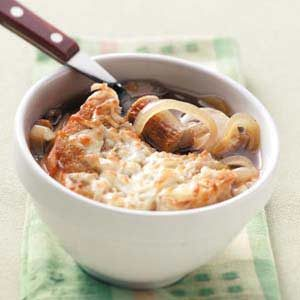 Onion Soup with Sausage