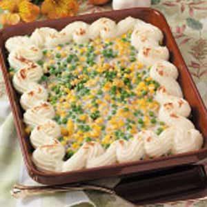 Potato-Topped Meat Pie