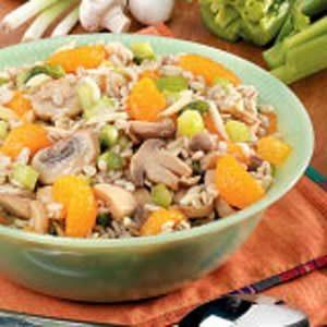 Mandarin Barley Salad