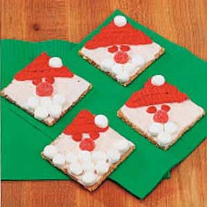 Graham Cracker Santas