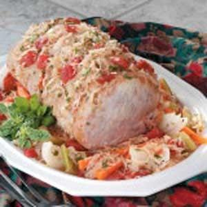Sauerkraut Pork Supper