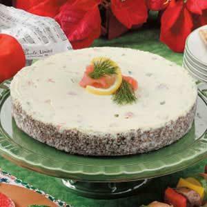 Noel Salmon Cheesecake