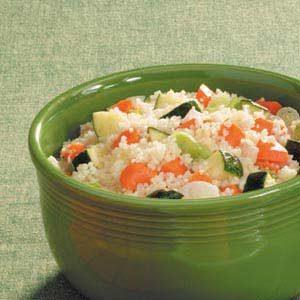 Zucchini Carrrot Couscous
