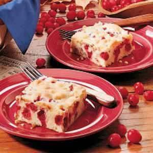 Tart Cranberry Cake