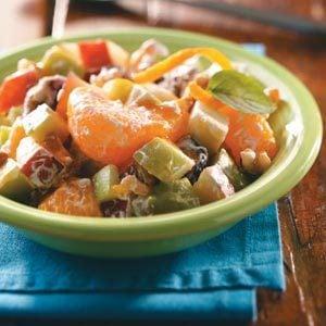 Caramel Mixed Fruit Salad