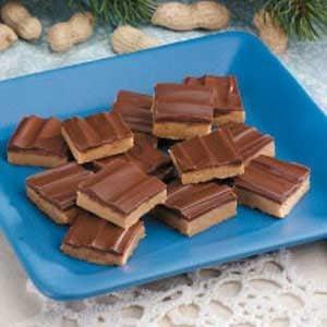 Chocolate Peanut Squares