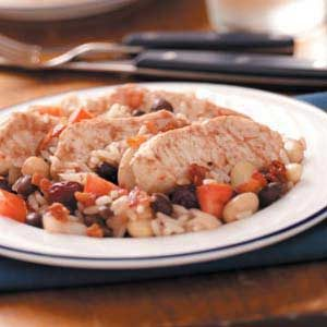 Chipotle Chicken and Beans