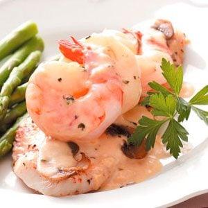 Sole with Shrimp Sauce