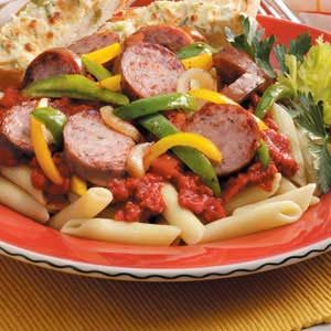 Pasta Sausage Supper