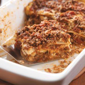 Potluck Lasagna