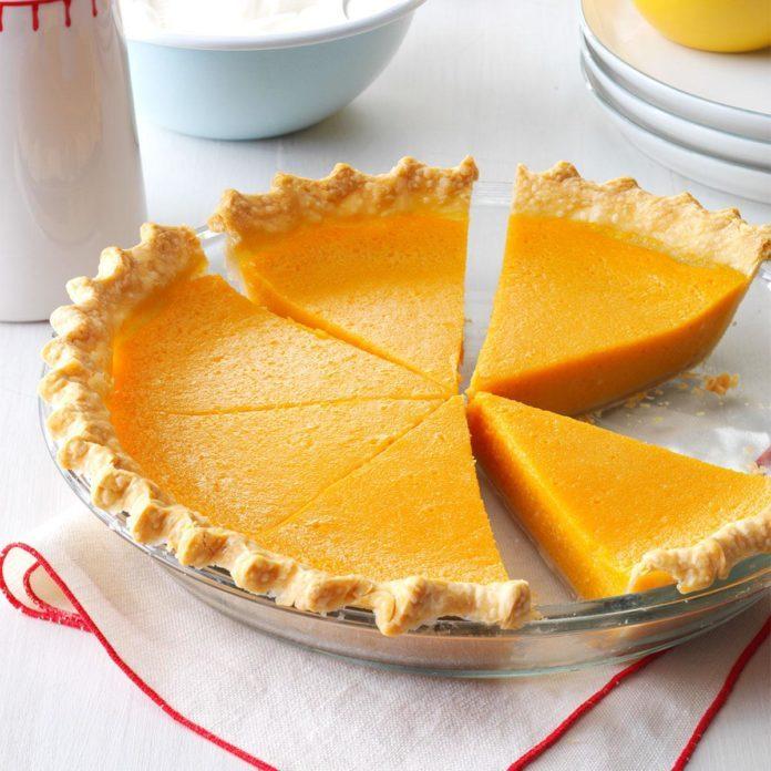 Lemony Sweet Potato Pie