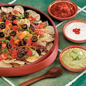 Shredded Beef Nachos