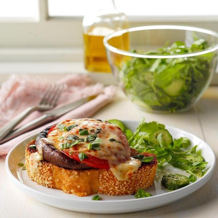 Summer vegetarian recipes - Portobello Melts