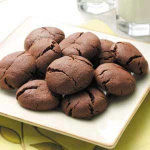 Fudgy Cocoa Drops