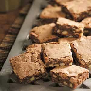 Black Walnut Brownies