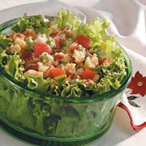 Cornbread Salad for Two