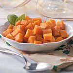 Garlic-Roasted Sweet Potatoes