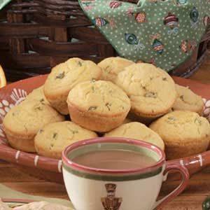 Jalapeno Cornmeal Muffins