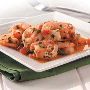 Shrimp in Herbs