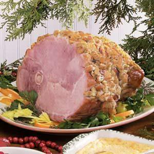 Stuffed Bone-In Ham