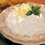 Lemon Pie in Meringue Shell