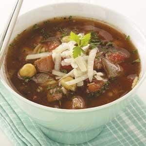 Ham 'n' Chickpea Soup