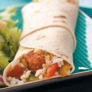 Chicken Veggie Wraps