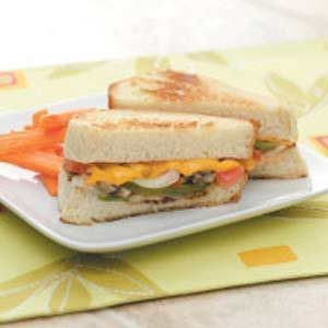 Veggie Cheese Sandwiches