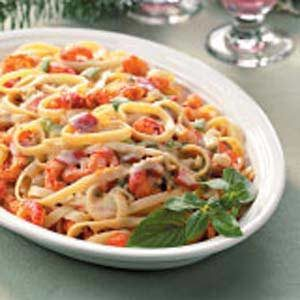 Crawfish Fettuccine