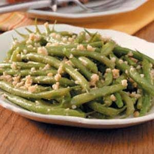 Green Beans with Almond Butter