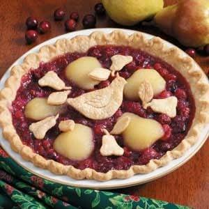 Partridge in a Pear Tree Pie