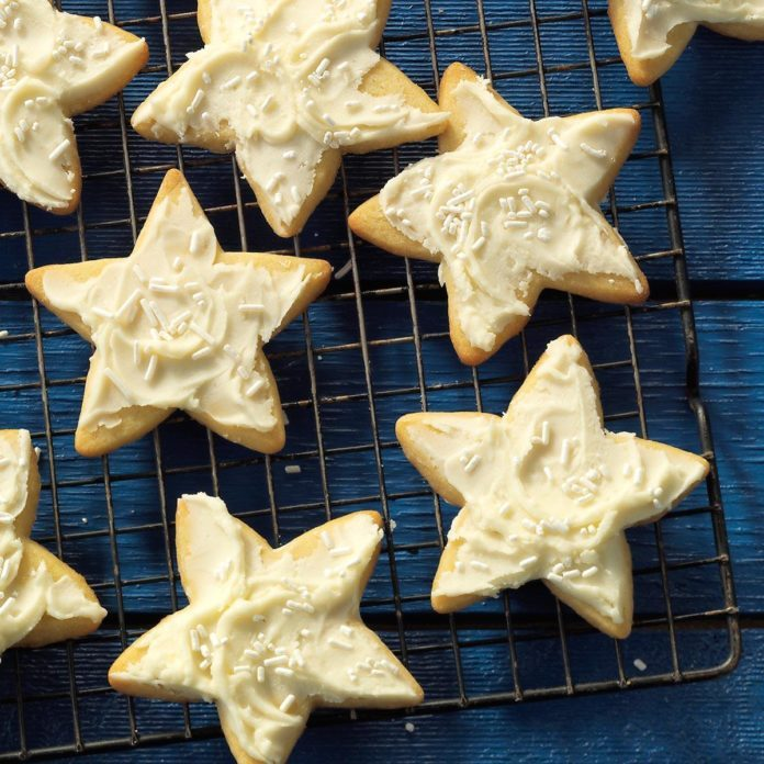 Grandma's Star Cookies