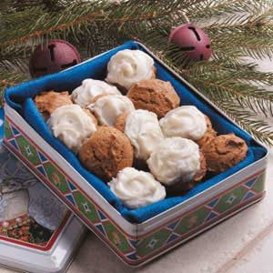 Frosted Ginger Creams