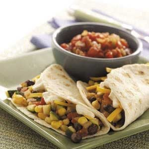 Soft Vegetable Tacos